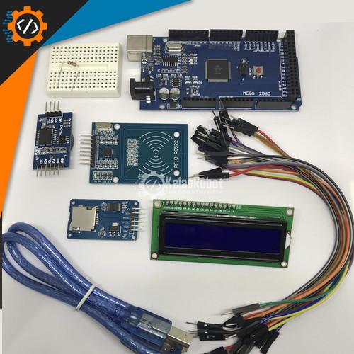Foto Produk Arduino RFID Absensi KIT Database ke Micro SD Card dari Kelas Robot