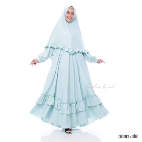 Foto Produk Setelan Gamis Original   Kaila Syar'i   Syari Wanita Original Anisa - Milo dari Tazkia Hijab Store