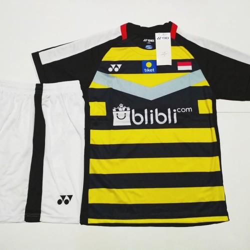 Foto Produk SETELAN BADMINTON / BULUTANGKIS Yonex Y.139 (Black Yellow) dari Gudang-Sporty