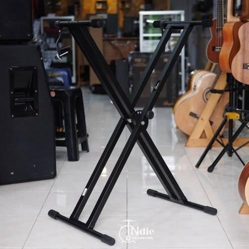 Foto Produk Stand Keyboard Double Leg Paladin SK55 dari INDIE MUSIC INSTRUMENT