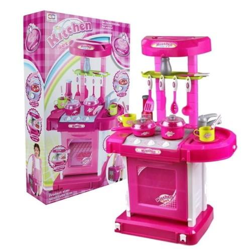 Foto Produk mainan KITCHEN SET PINK KOPER dari Toys Supply