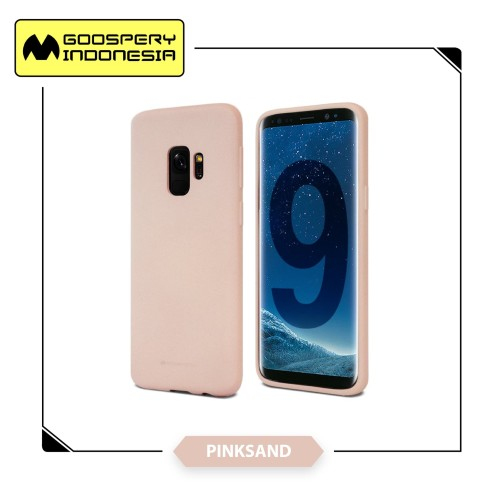 Foto Produk GOOSPERY Samsung Galaxy A6 Plus 2018 Soft Feeling Jelly Case - Pink Sand dari Goospery Indonesia