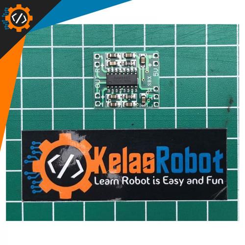 Foto Produk Mini Ampli 5V PAM8403 Digital Power Amplifier USB 3W Stereo dari Kelas Robot