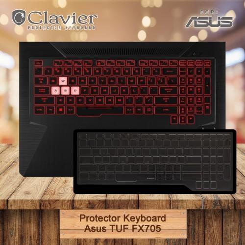 Foto Produk Keyboard Protector Cover Asus TUF FX705GD FX705GE FX705GM Cooskin dari Clavier