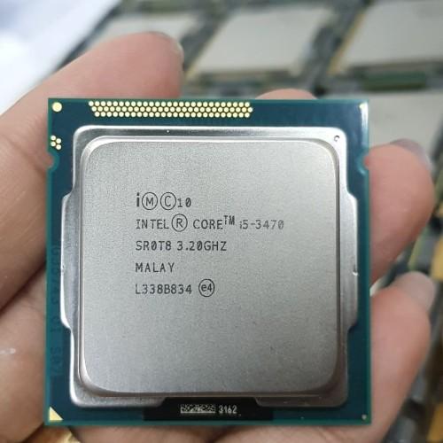 Foto Produk processotr i5 3470 tray tanpa fan dari iconcomp