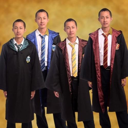 Foto Produk jubah kostum harry potter cosplay costume coat seragam sihir hogwarts - Biru dari ecos