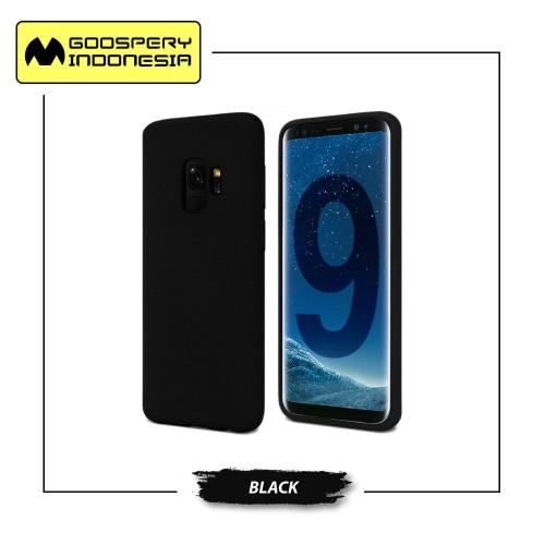 Foto Produk GOOSPERY Samsung Galaxy A6 Plus 2018 Soft Feeling Jelly Case - Black dari Goospery Indonesia