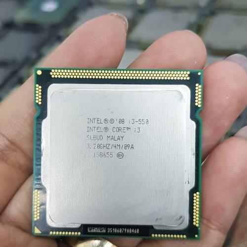 Foto Produk PROCESSOR INTEL CORE I3 550+ FAN ORI. SOCKET 1156 dari iconcomp