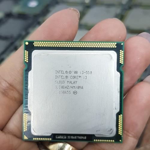 Foto Produk PROCESSOR INTEL CORE I3 550 TRAY TANPA FAN SOCKET 1156 dari iconcomp