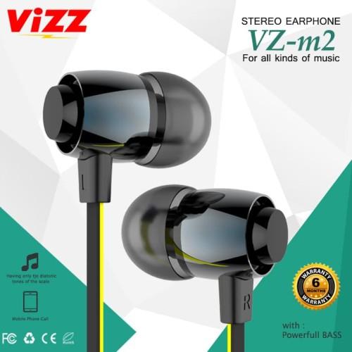 Foto Produk EARPHONE M2 NEW VIZZ Stereo Headset dari Vizz Official Store