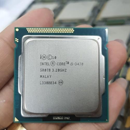 Foto Produk processor intel core i5 3470 tray + fan ori 1155 dari iconcomp