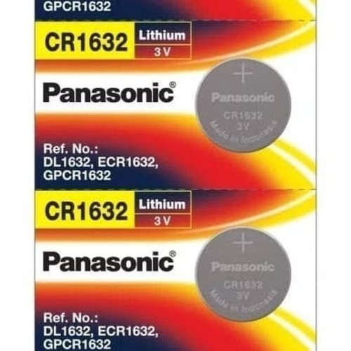 Foto Produk Baterai / Batre / Battery Panasonic CR1632 CR 1632 Original Asli dari TriMedia Shop