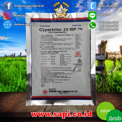 Foto Produk Star Farm BTM - CYPERKILLER 25 WP Obat pembasmi Serangga dari Star Farm