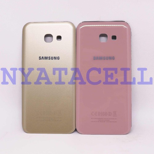 Foto Produk Back Door Samsung A5 2017 A520 /Backdoor/Tutup Baterai/Casing Belakang - Gold dari NYATACELL
