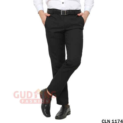 Foto Produk Celana Panjang Formal Pria Celana Kerja Pria Slimfit Katun CLN 1174 - 28 dari Gudang Fashion