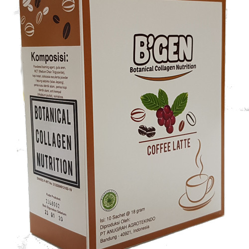 Foto Produk B'gen Minuman Coffe Collagen Low Fat & Low Kalori dari B'gen Official Store
