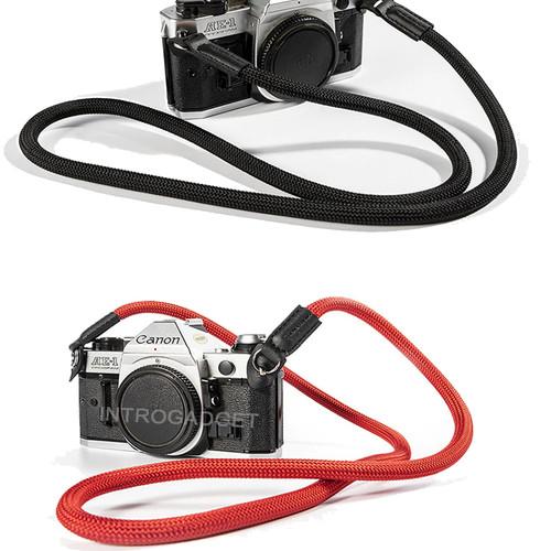 Foto Produk Strap Kamera Camera Neck Strap Mountaineering Nylon Rope Merah - brown dari Introgadget