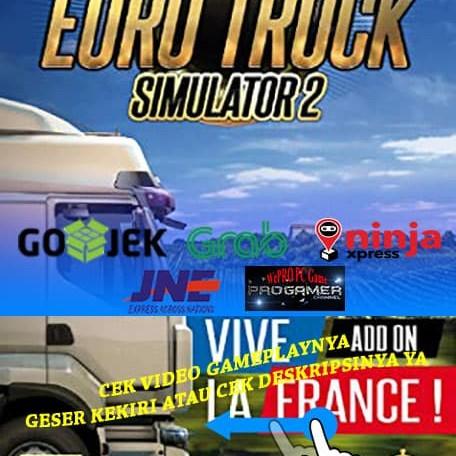 Foto Produk EURO TRUCK SIMULATOR 2 CD DVD GAME PC GAMING PC GAMING LAPTOP GAMES dari WEPRO-SHOP