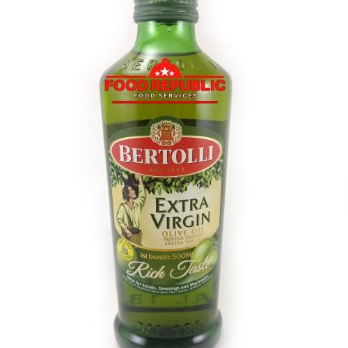 Foto Produk Bertolli Extra Virgin Olive Oil / Minyak Zaitun Murni 500 ML BEST SELL dari Food Republic