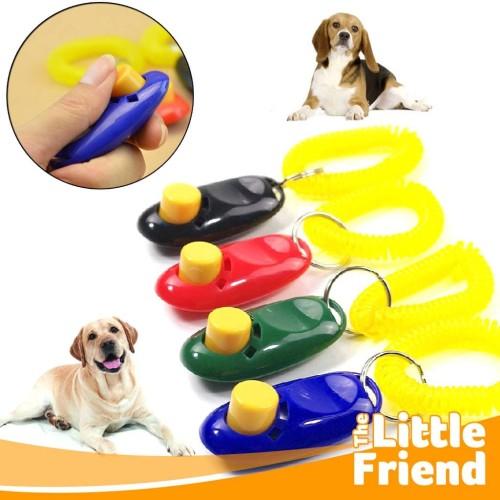 Foto Produk Dog Pet Clicker/Kliker Alat Latihan Training Hewan Peliharaan Anjing - Random dari The Little Friend