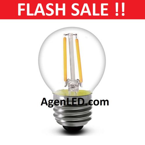 Foto Produk Lampu LED Filamen 2W Bulb G45 Bohlam pijar 2 w watt edison 4 cafe 3 5 - G45 dari AgenLED