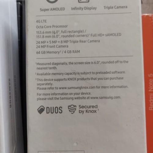 Foto Produk Samsung Galaxy A7 2018 4/64 Garansi Resmi Sein - Biru - Biru dari marvica store