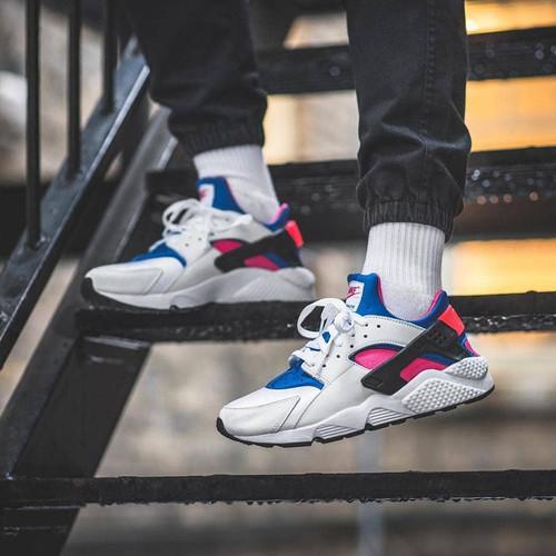 Nike Huarache Royal Blue Pink High Premium Quality