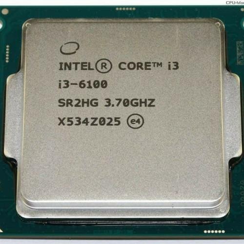 Foto Produk Intel Core i3-6100 TRAY - 3.7 Ghz 3MB Cache + FAN 1151 dari t_pedia pc