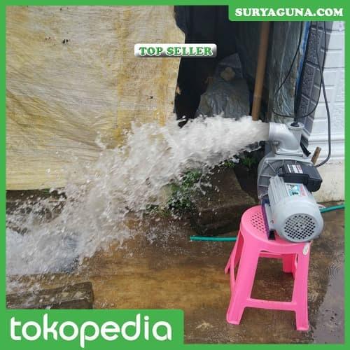 Foto Produk Pompa Air Listrik Modifikasi JET 1500 Pompa Kolam Ikan Gurame dari SuryaGuna
