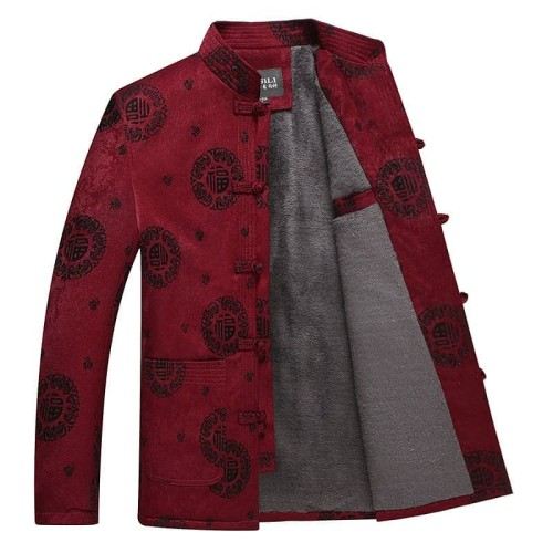 Foto Produk Kemeja Cheongsam Jaket Premium Murah Baju Imlek Kostum China Merah - Merah, 200 dari MadisonShop