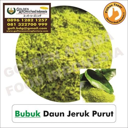 Foto Produk Bubuk Daun Jeruk Purut Asli Serbuk. 0896-1282-1257, Kaffir Lime Leaves dari Pensil hb Asli Merk 2