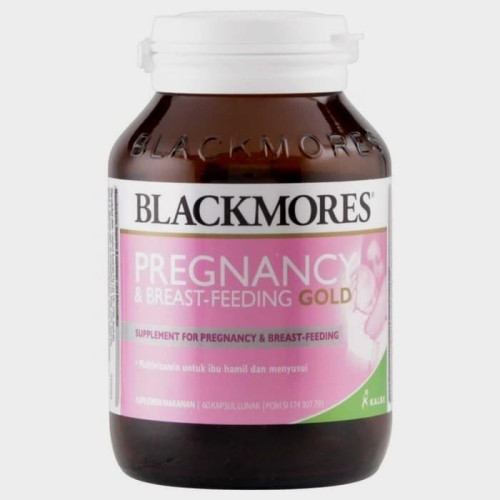 Foto Produk Blackmores Pregnancy & Breast Feeding Gold isi 60 kapsul dari malang suplemen grosir