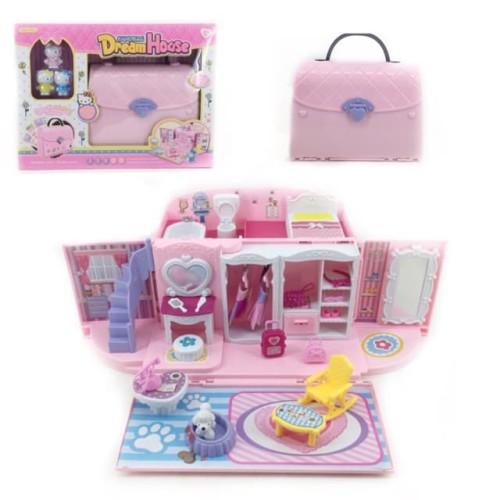 Foto Produk Handbag Dream House Hello Kitty - Mainan Rumah-Rumahan Hello Kitty dari toy house