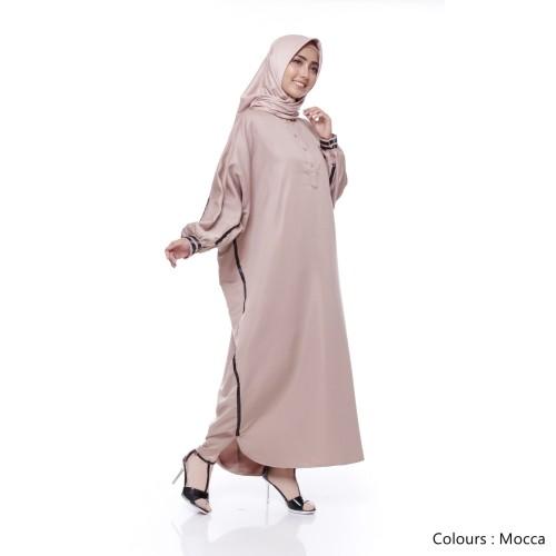 Foto Produk Baju Gamis Jumbo | Pakistan Abaya | Gamis Syari Muslim - Red dari Tazkia Hijab Store