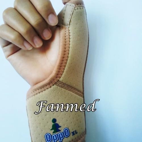 Foto Produk Dekker Korset Jempol & Pergelangan Tangan WRIST SUPPORT OPPO 1089 dari Fanmed