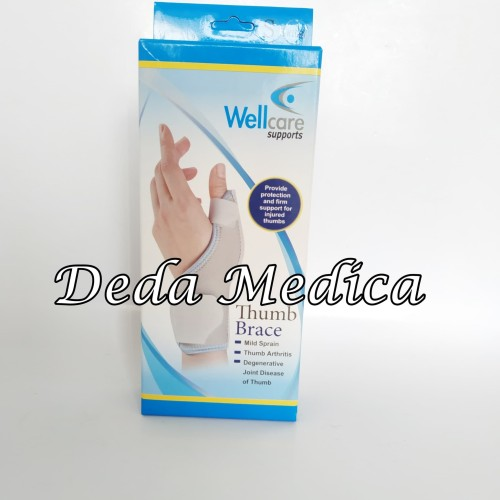 Foto Produk Deker Pergelangan Tangan Jari Jempol 42005 Thumb Brace Wellcare L/R dari Deda Medica