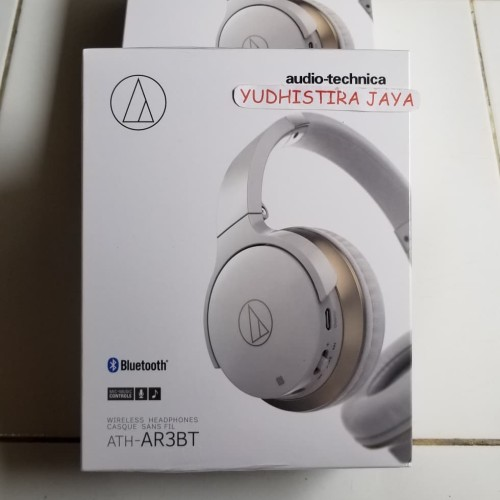 Foto Produk AUDIO TECHNICA ATH AR3BT Original Wireless On-Ear Headphones RESMI 1Th dari yudhistira jaya
