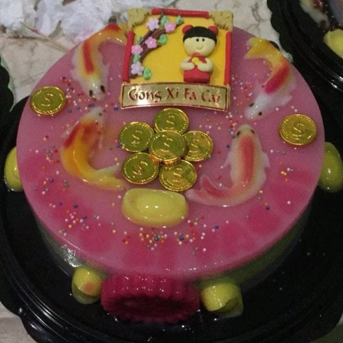 Foto Produk tart puding 10 nuansa imlek dari hatake store0