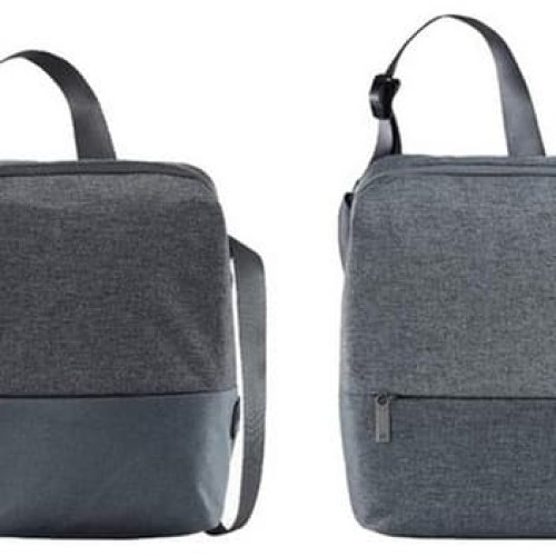 Foto Produk Xiaomi 90Fun Basic Urban Shoulder Bag Original Dark Grey & Light Grey - Abu-abu dari jcb online