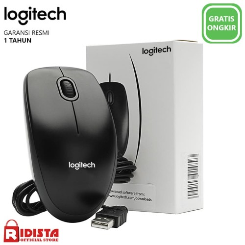 Foto Produk Mouse USB Logitech B100 dari Ridista Official Store