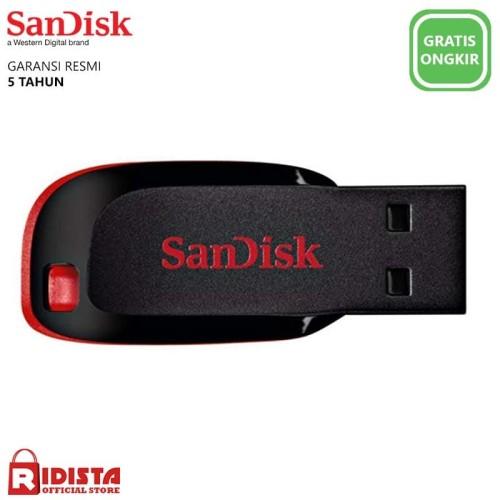 Foto Produk Flashdisk SanDisk Cruzer Blade 32GB dari Ridista Official Store