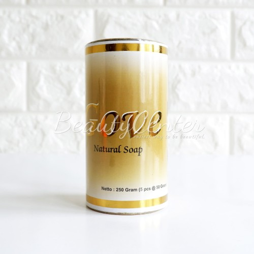 Foto Produk [Tabung : isi 5pcs] Sabun GOVE Natural Soap / Asli 100% dari Beauty-Center