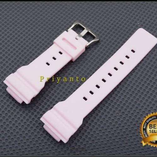 Foto Produk Tali strap jam tangan casio baby-g Ba-110 ba110 ba 110 putih dari PRIYANTO
