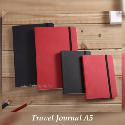 Foto Produk Potentate Travel Journal A5 (80gsm - 80 sheets) - Merah dari Lix Art Supplies