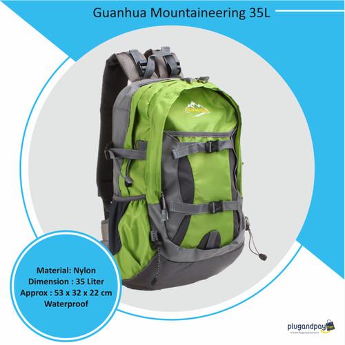 Foto Produk Tas Ransel Guanhua Mountaineering 35L dari plugandpay