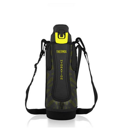 Foto Produk Thermos Sports Bottle Vacuum Insulated - Black Yellow 1000ml ORIGINAL dari Alfabet Teknologi
