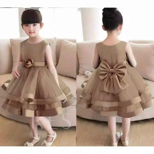 Foto Produk Dress baby&anak size 0-4thn/gaun pesta/baju ulang tahun/dres kondangan dari Fika Olshop Store