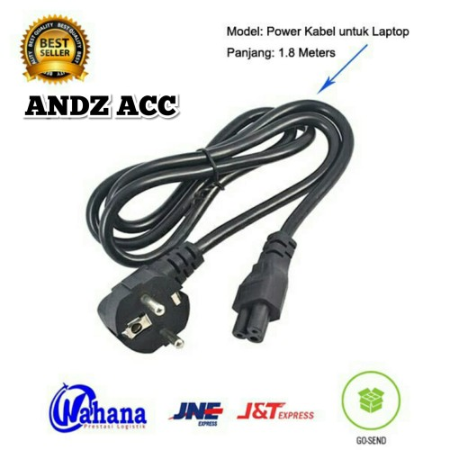 Foto Produk Kabel power adapter laptop 1.8M dari ACC COMPUTER 22