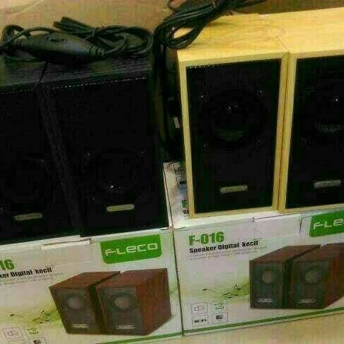 Foto Produk speaker komputer fleco F016 speaker aktif multimedia speaker fleco dari WMP01 online