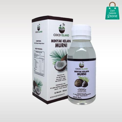 Foto Produk Minyak Kelapa Murni/Virgin Oil/VCO/Coco Island/100ml dari Daily Needs Store